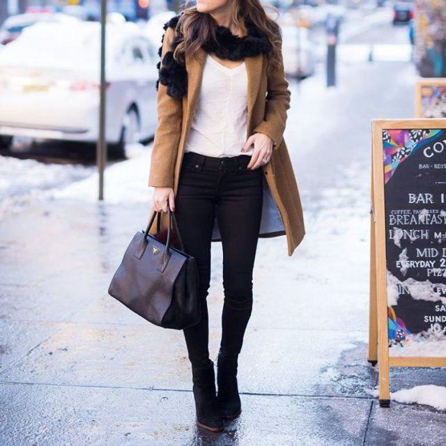 Casual Friday style casualfriday peacoat fur